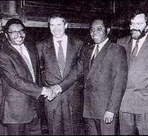 Roma, 1992. L\'accordo di pace sul Mozambico