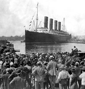 Belfast, il varo del Titanic
