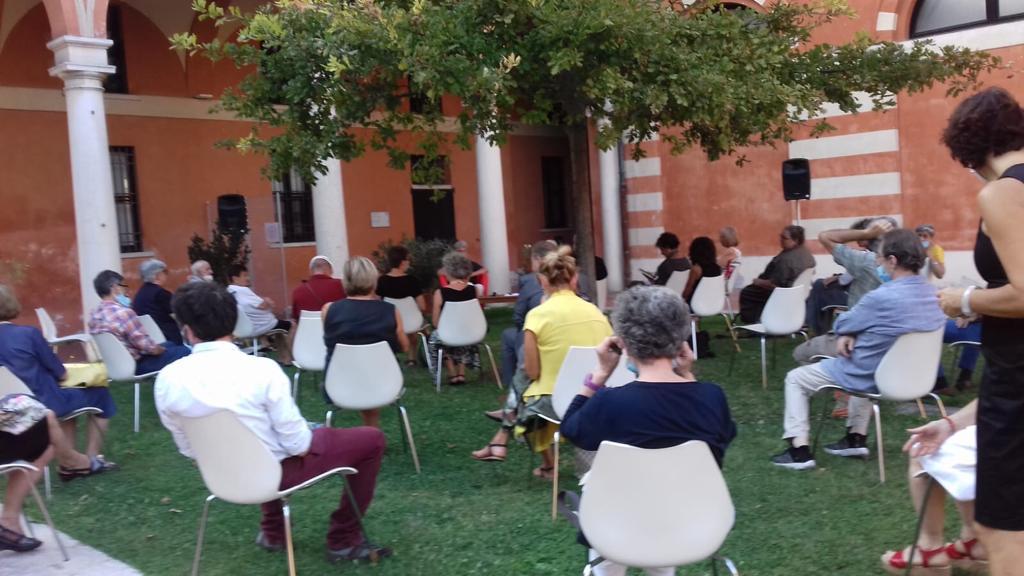 Un'immagine della presentazione a Mantova