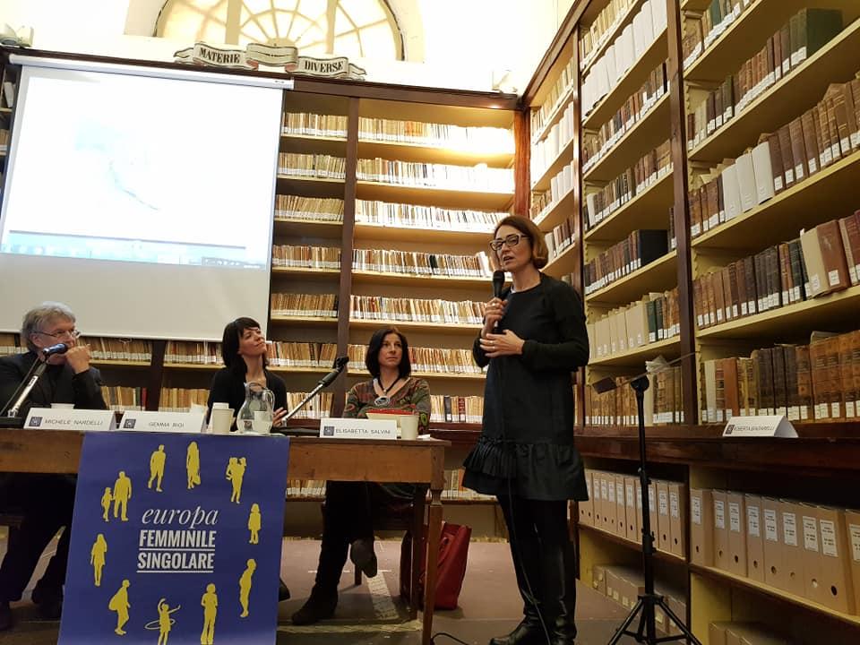 Un momento dell'incontro a Reggio Emilia