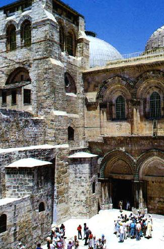 l\'ingresso al Santo Sepolcro