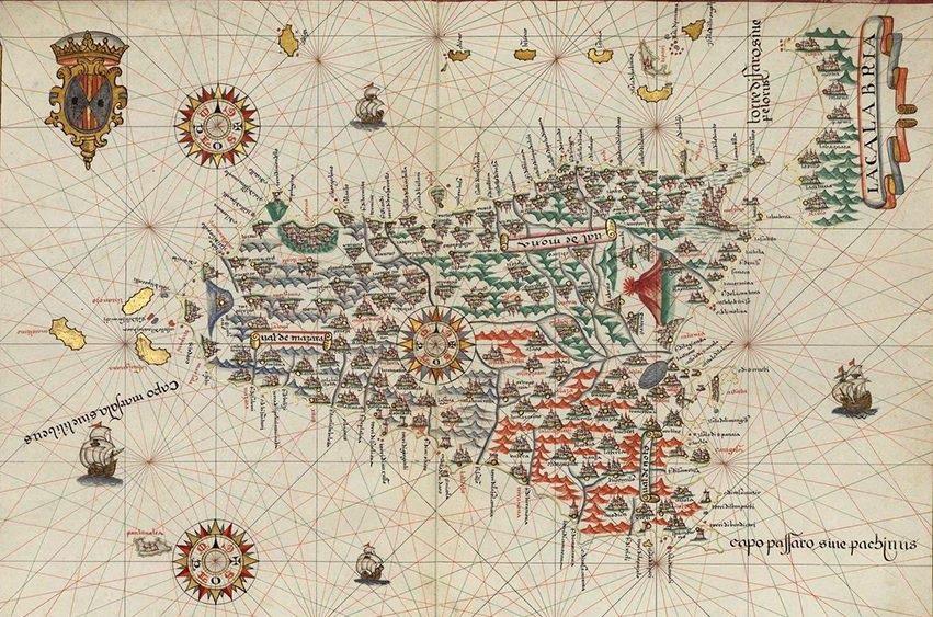 Antica carta della Sicilia