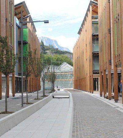 Trento, il quartiere delle Albere