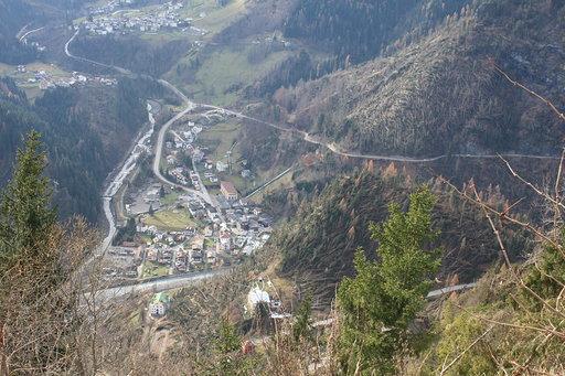 Effetto Vaia nelle Dolomiti bellunesi