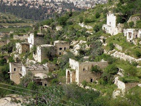 L'antica Lifta, nei pressi di Gerusalemme