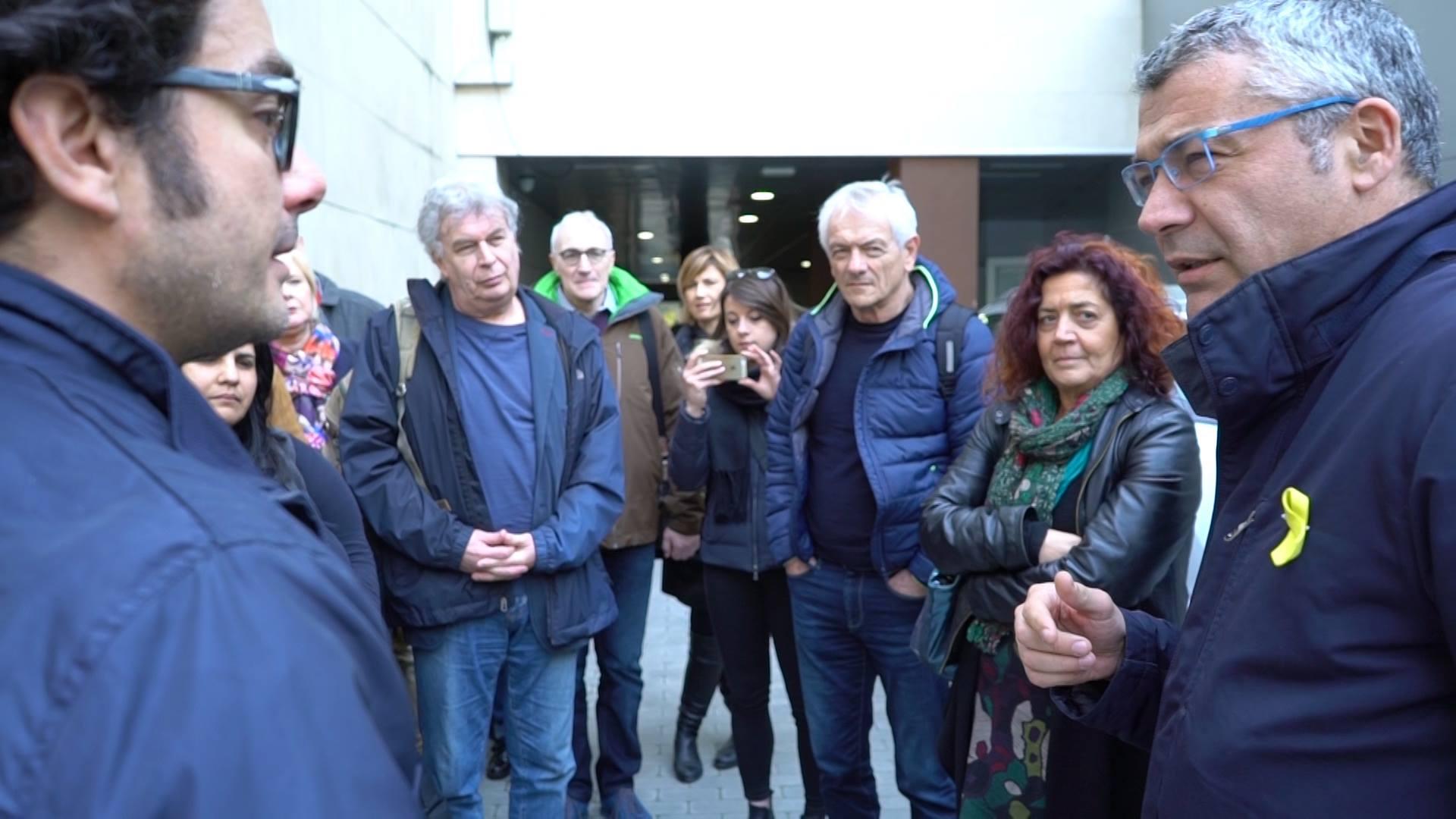 Barcellona (marzo 2018), il nostro incontro con gli esponenti dell'Esquerra Republicana