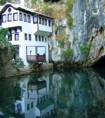 La tekija di Blagaj (Bosnia Erzegovina)