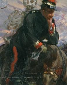Una delle opere della mostra