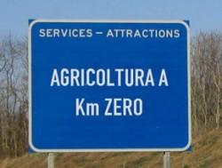 cartello stradale km 0