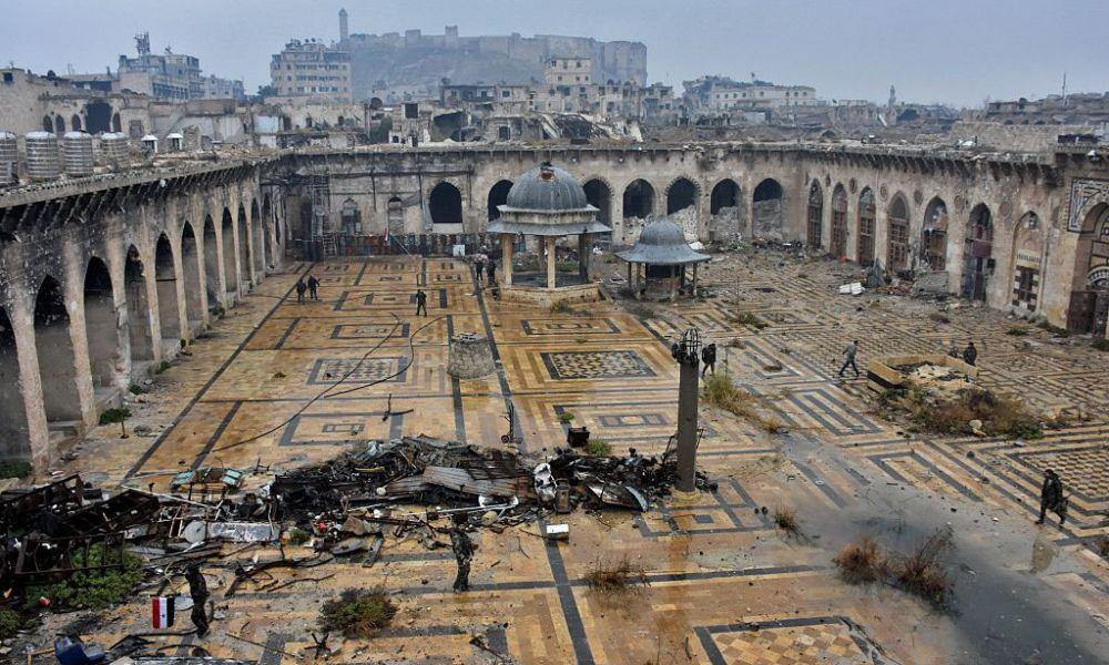 Aleppo, la storia bombardata