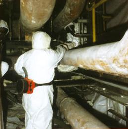 L\'amianto utilizzato sulle navi