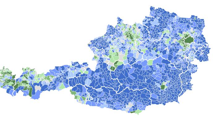 L\'esito del ballottaggio in Austria