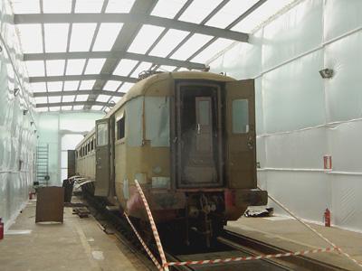 Le corrozze ferroviarie, uno degli utilizzi più intensi e frequenti dell\'amianto