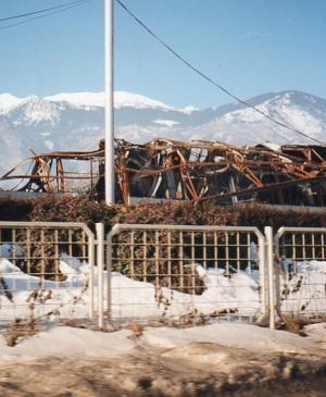 Kosovo, capannoni colpiti con l'uranio impoverito