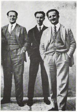 Ernesto Rossi, Carlo e Nello Rosselli
