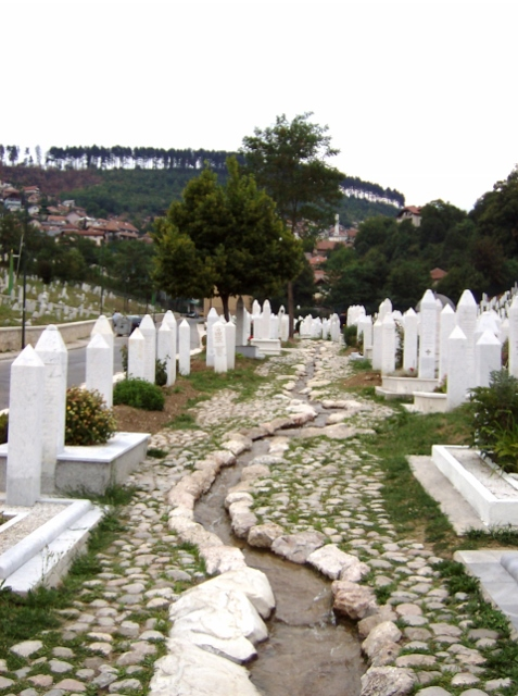 Sarajevo, uno dei tanti cimiteri