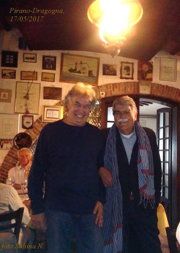 In Istria con Marino Vocci (maggio 2017)