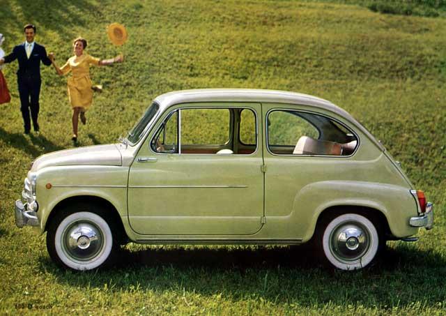 Cambi d'epoca: la Fiat seicento
