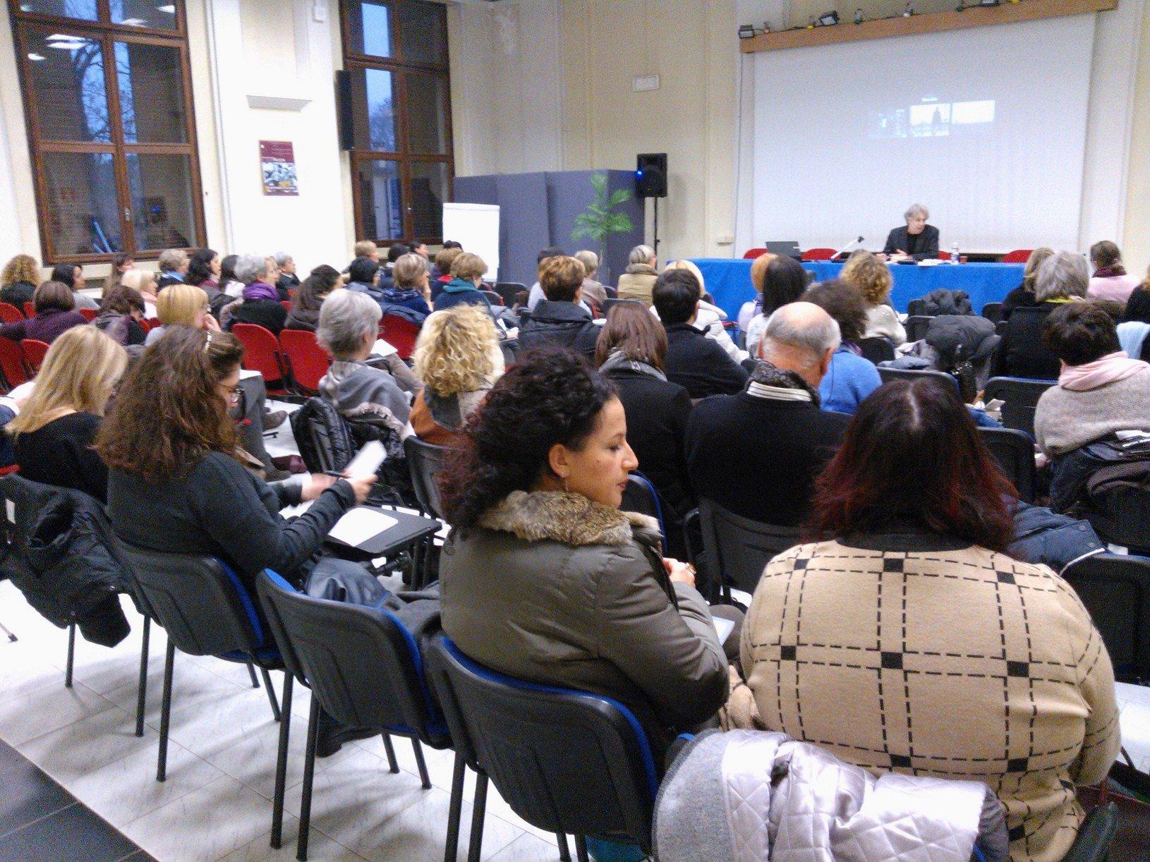 Un momento di formazione sulla cooperazione internazionale a Padova