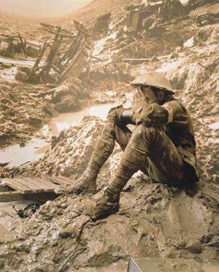 Un\'immagine della prima guerra mondiale