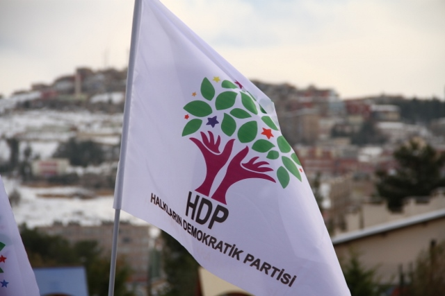 La bandiera dell'HDP