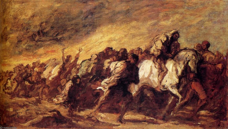 Honoré Daumier, Fuggitivi