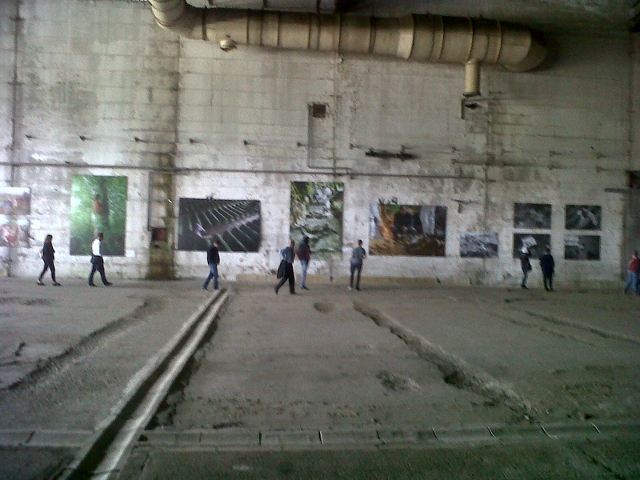 Potocari, capannone industriale
