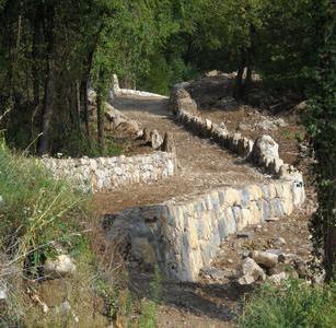 Terrazzamenti in Destra Adige