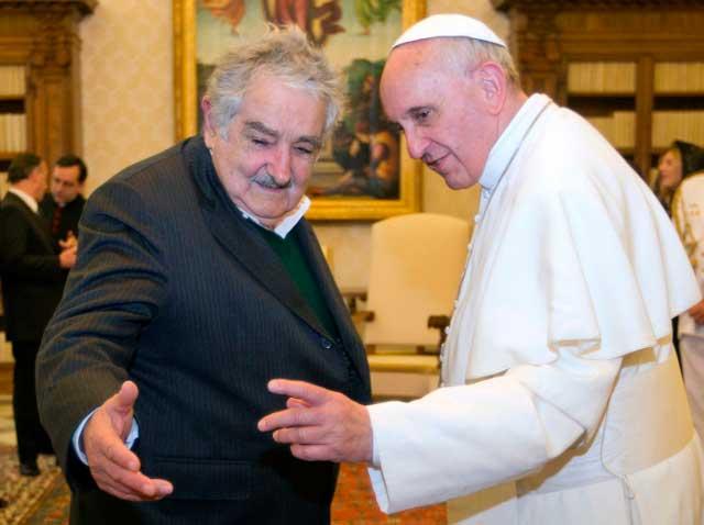Papa Francesco e Pepe Mujica