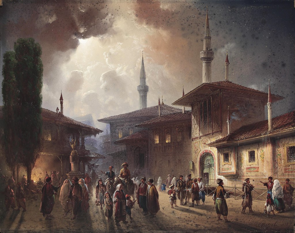 Istanbul, Carlo Bossoli