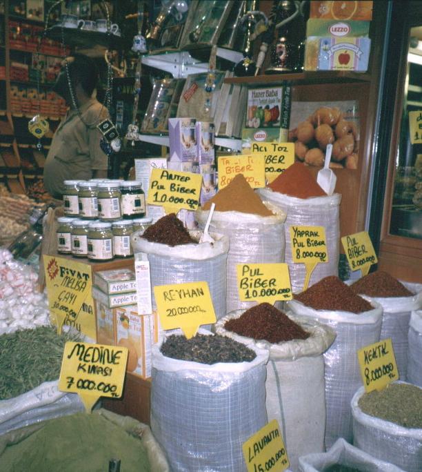 Istanbul, mercato di spezie