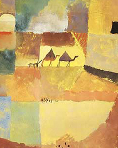 Paul Klee, l\'asino e il dromedario