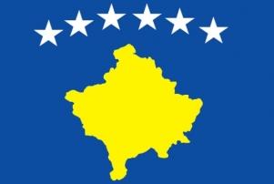 La bandiera del Kosovo