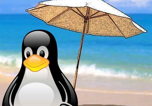 Logo estivo di Linux