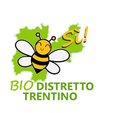 Il logo della campagna per il Distretto biologico trentino