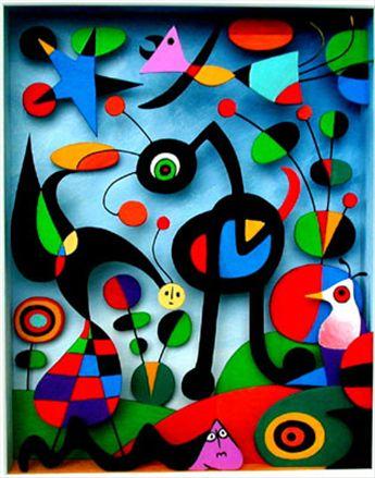 Joan Mirò, Il giardino