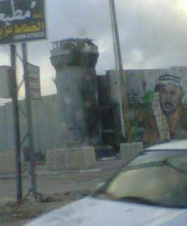 Il muro della vergogna, nella città di Bethlemme