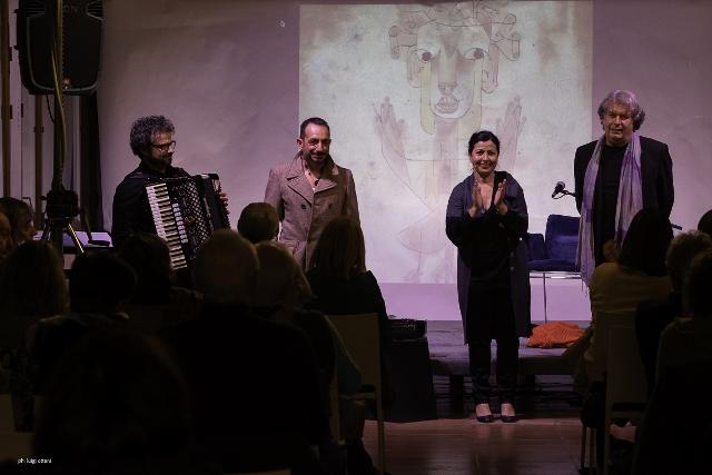 Una presentazione del libro (Formigine, Modena)