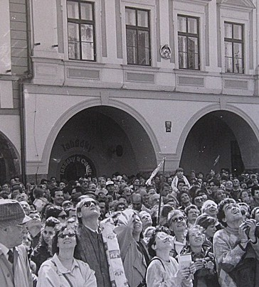 Praga, 29 dicembre 1989