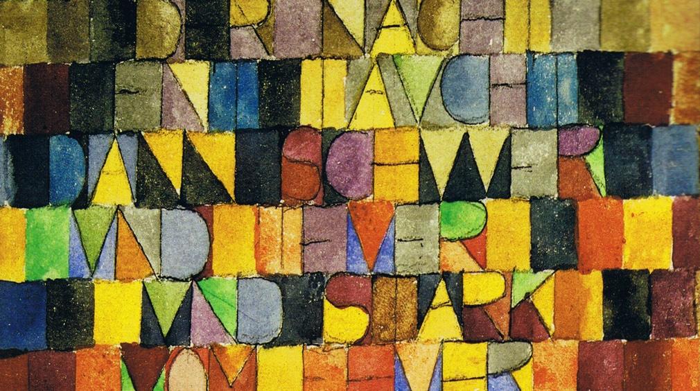 Paul Klee, dal grigiore della notte (1918)