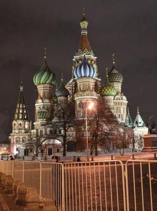 Mosca, la Piazza Rossa chiusa al pubblico