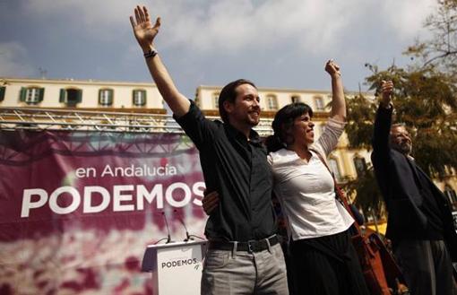 I leader di Podemos, Andalusia
