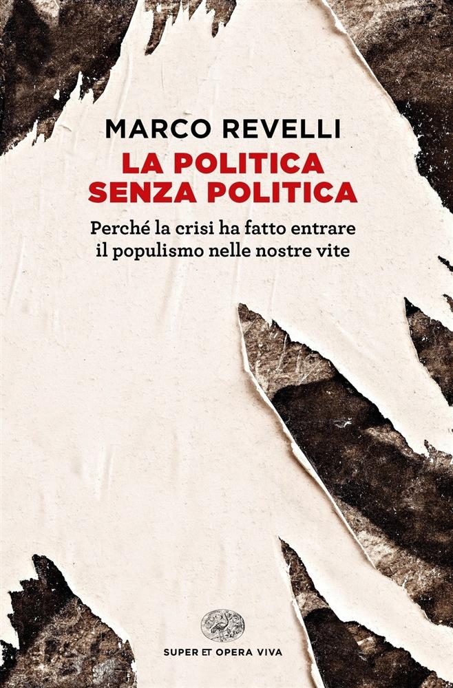 La copertina dell'ultimo libro di Marco Revelli