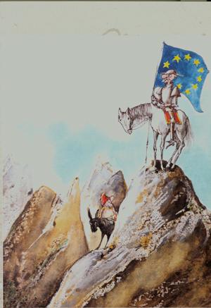 don chisciotte e l\'europa