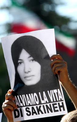 manifestazione per Sakineh