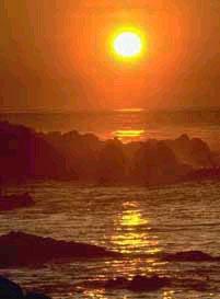 slovenia tramonto