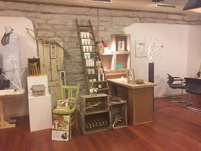 Un\'immagine del Social Store di Trento