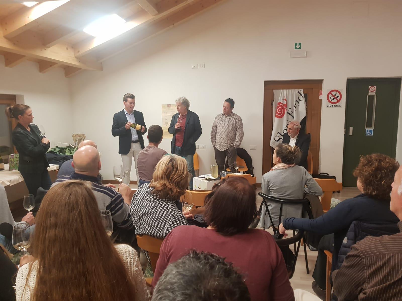 L'incontro precedente svoltosi al Mas del Gnac ad Isera