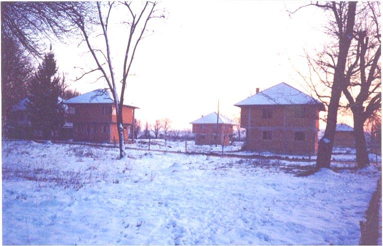 La ricostruzione della stari grad, la città vecchia, nel gennaio 2001