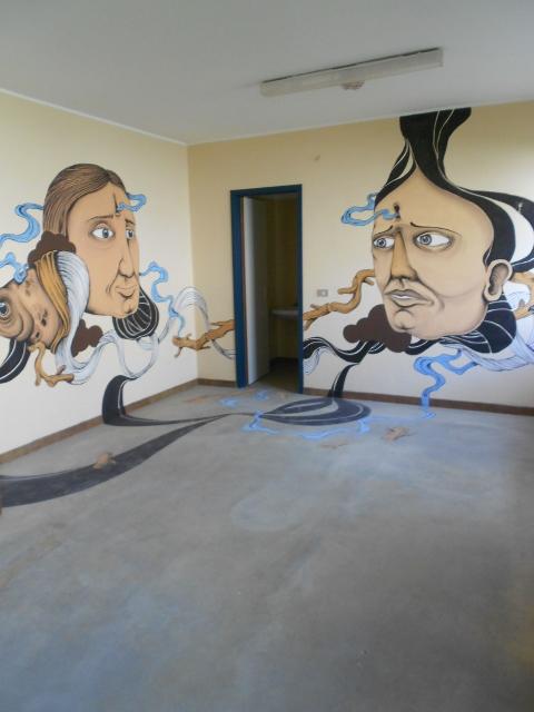 L'ex carcere di Tirano (particolare)
